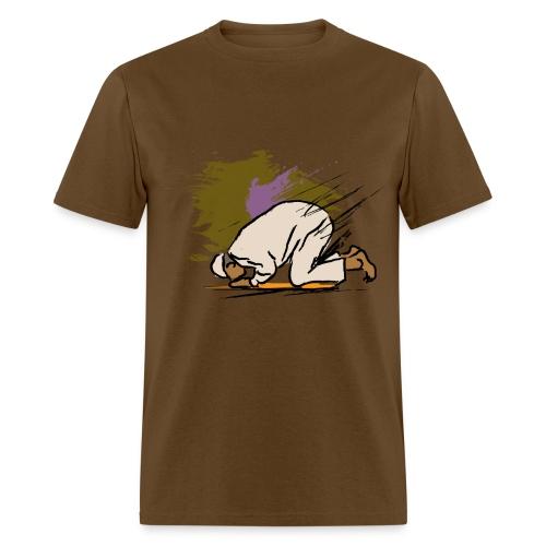 Brown Man Praying - Men's T-Shirt