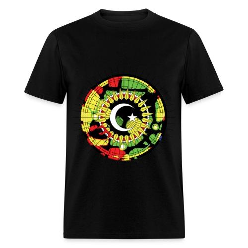 Red Green Yellow - Men's T-Shirt