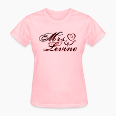 Mrs. Adam Levine Women's standard t-shirt