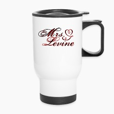 Mrs. Adam Levine Travel mug