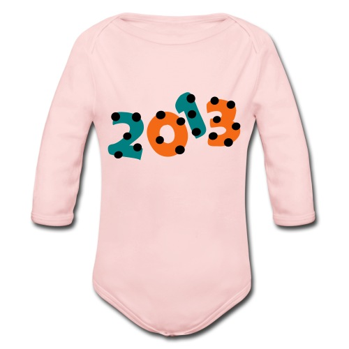 2013 Baby Long Sleeve One Piece - Organic Long Sleeve Baby Bodysuit