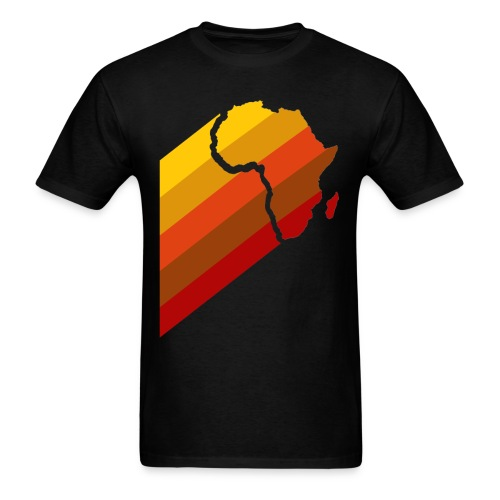 RETRO AFRICA - Men's T-Shirt
