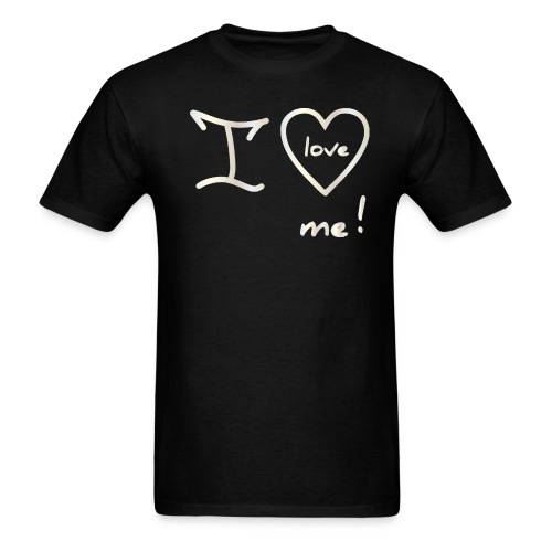 WHT I LOVE ME - Men's T-Shirt