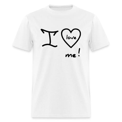 RED I LOVE ME - Men's T-Shirt