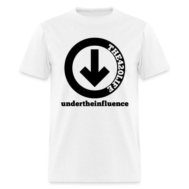 """""""Under The Influence"""" T-Shirt Men"""