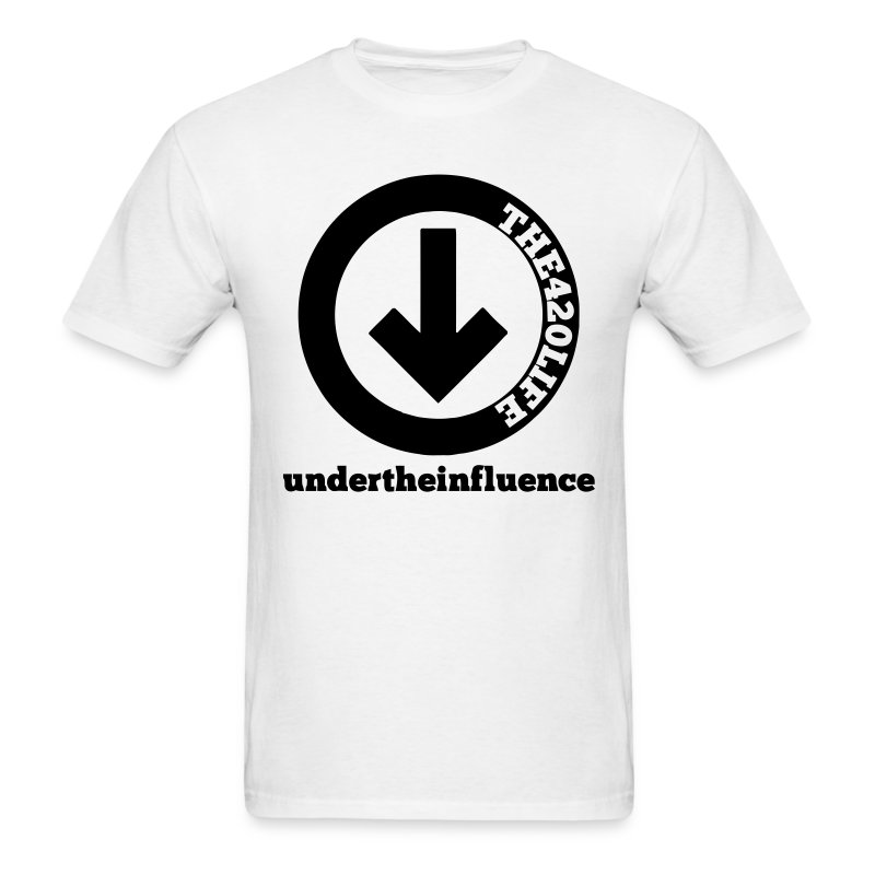 Under The Influence T-Shirt Men - Men's T-Shirt
