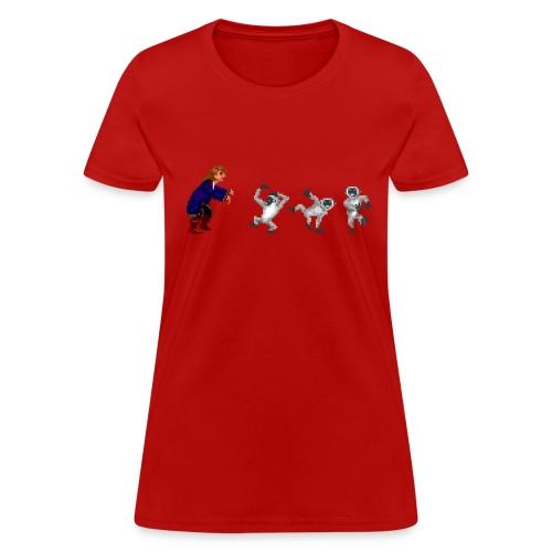 Monkey Guy(F) - Women's T-Shirt