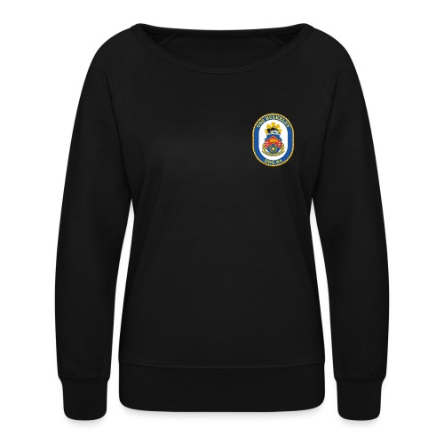 USS BULKELEY DDG-84 Womens Crest Sweatshirt - Women's Crewneck Sweatshirt