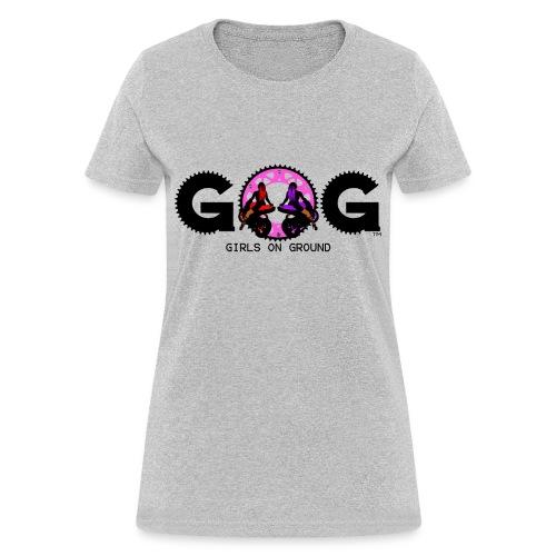G.O.G WOMENS T BLACK LOGO - Women's T-Shirt