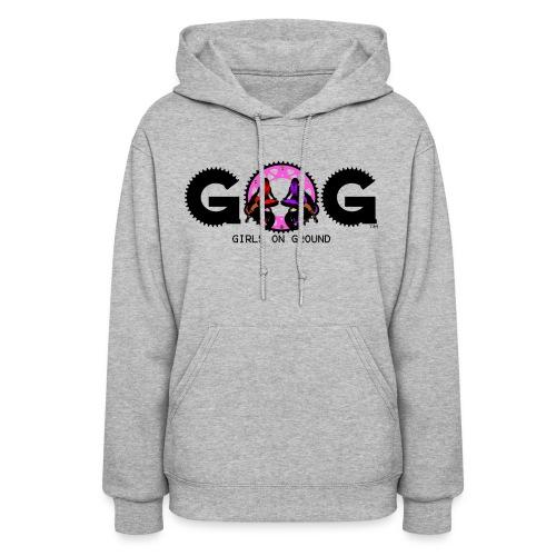 G.O.G WOMENS HOODIE BLACK LOGO - Women's Hoodie