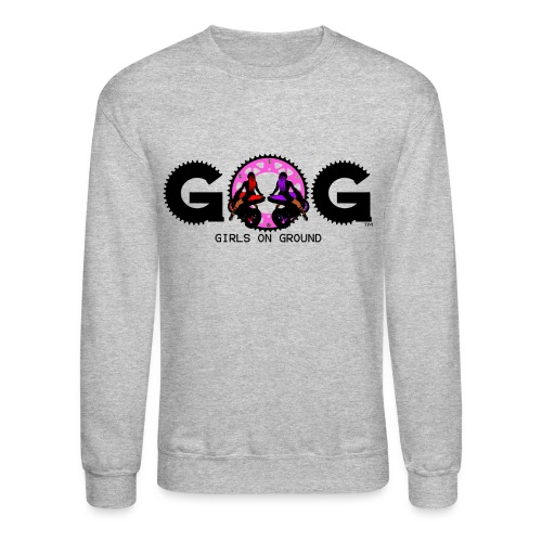 G.O.G CREWNECK SWEAT SHIRT BLACK LOGO - Crewneck Sweatshirt