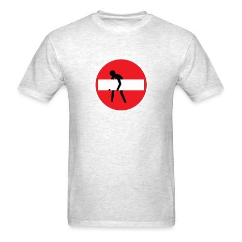 No entry man - Men's T-Shirt