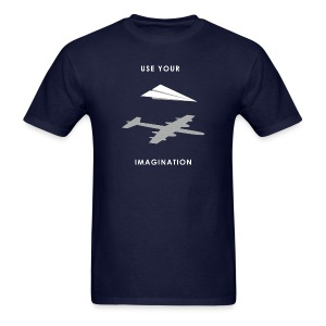 Use your imagination - Men's T-Shirt