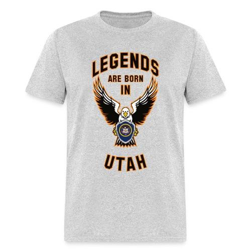 Legends are born in Utah - Men's T-Shirt