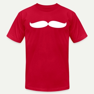 Rebel Stache T-Shirt - Men's T-Shirt by American Apparel