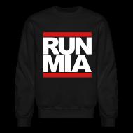 Long Sleeve Shirts ~ Crewneck Sweatshirt ~ Run Miami