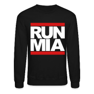 Long Sleeve Shirts ~ Crewneck Sweatshirt ~ Run Miami