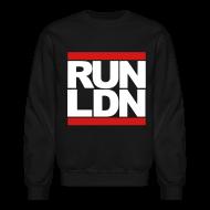 Long Sleeve Shirts ~ Men's Crewneck Sweatshirt ~ Run London