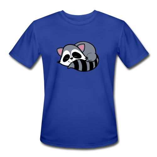 Raccoon - Men's Moisture Wicking Performance T-Shirt