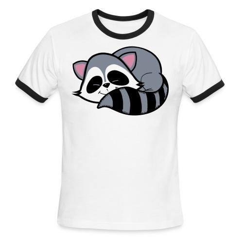 Raccoon - Men's Ringer T-Shirt