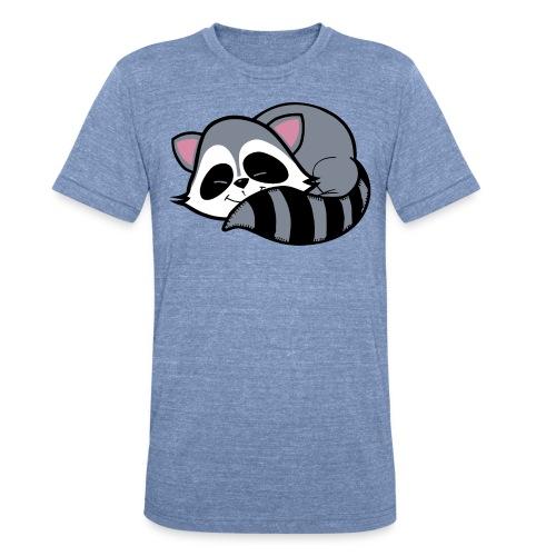 Raccoon - Unisex Tri-Blend T-Shirt