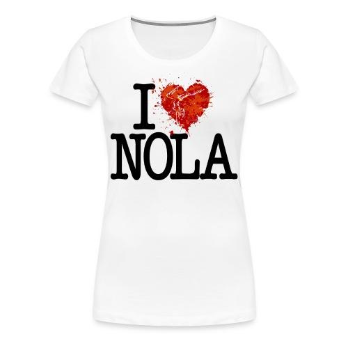 I Heart NOLA - Gymnastics - Women's Premium T-Shirt