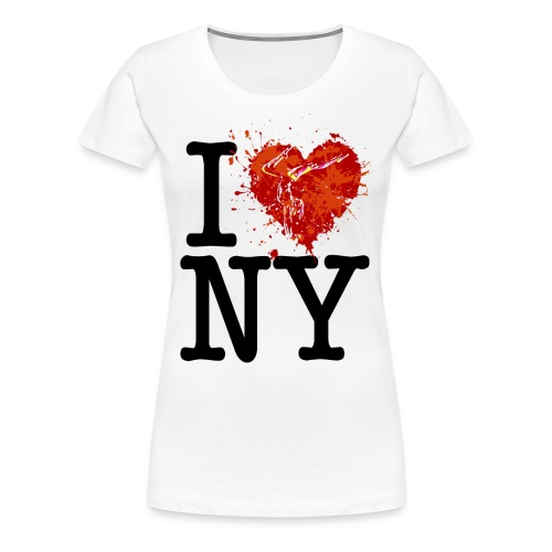 I Heart New York - Gymnastics - Women's Premium T-Shirt