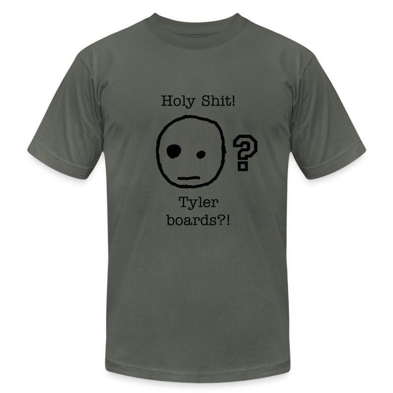 Tyler Boards? - AA - MEn - Men's T-Shirt by American Apparel