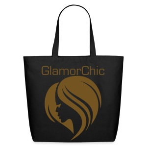 Eco-Friendly Cotton Tote - The bag is featuring a Special Flex Print, which is a smooth and extremely durable glistening/glitter like surface.