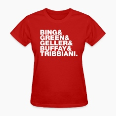 Bing Green Geller Buffay Tribbiani