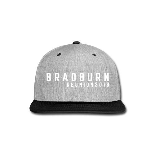 BASIC BRADBURN HAT // GREY - Snap-back Baseball Cap