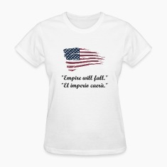 american flag Women's T-Shirts