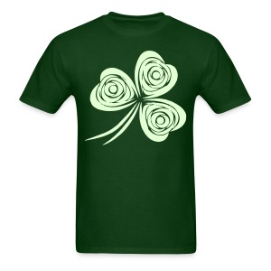 Glow Shamrock - Men's T-Shirt