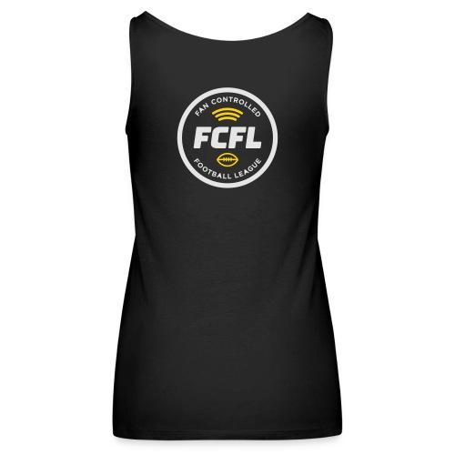 Official FCFL Logo  Women's Premium Tank - Women's Premium Tank Top