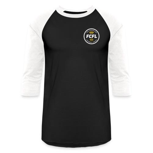 Unisex Baseball T - Official FCFL Logo - Baseball T-Shirt