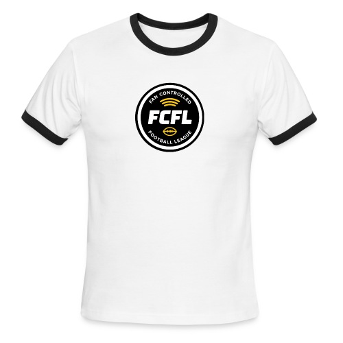 Men's Ringer Tee - Official FCFL Logo - Men's Ringer T-Shirt