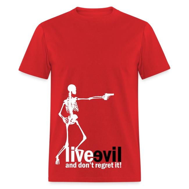 Live Evil Skeleton Mercenary (Red)