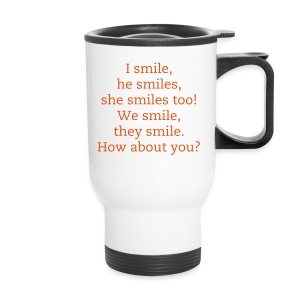 Learn English therm mug - Travel Mug