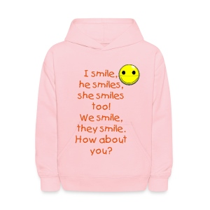 Learn English shirts - Kids' Hoodie