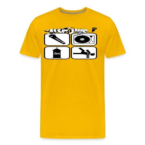 Hip Hop Legacy BIG - Men's Premium T-Shirt
