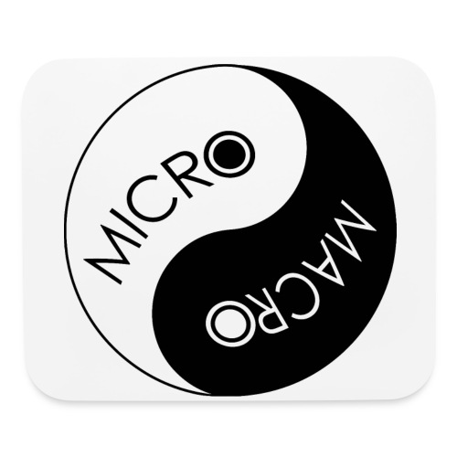 Micro Macro Laptop Mousepad - White - Mouse pad Horizontal