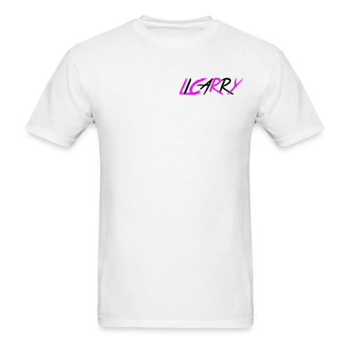 white pink blk licarry - Men's T-Shirt