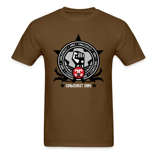 Combichrist army men 39 s tee t shirt combichrist custom for Army design shirts online