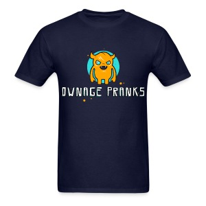 Ownage Pranks Orange Logo Shirt - Men's T-Shirt