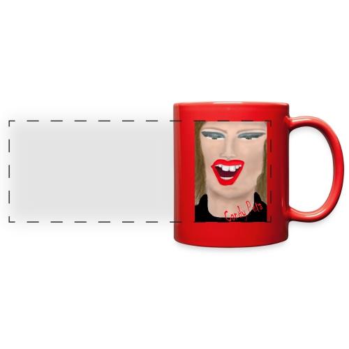 Candy Puta Series Red Mug - Full Color Panoramic Mug