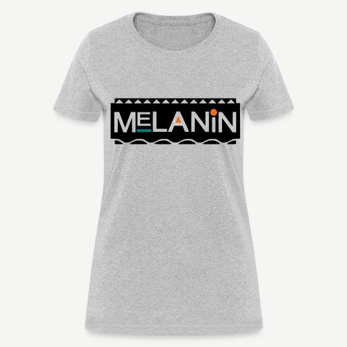 Melanin 90's Sitcom Shirt - Women's T-Shirt