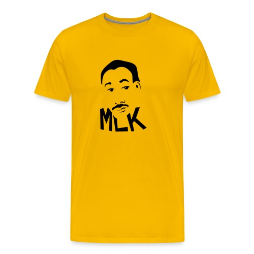 MLK Day - Heather Gray Tee - Men's Premium T-Shirt