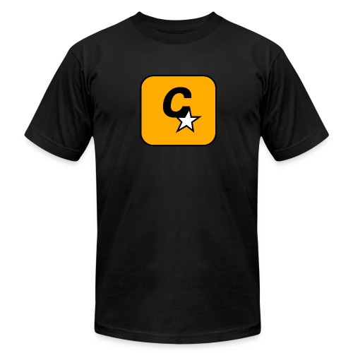 C* Star Black Tee - Men's  Jersey T-Shirt