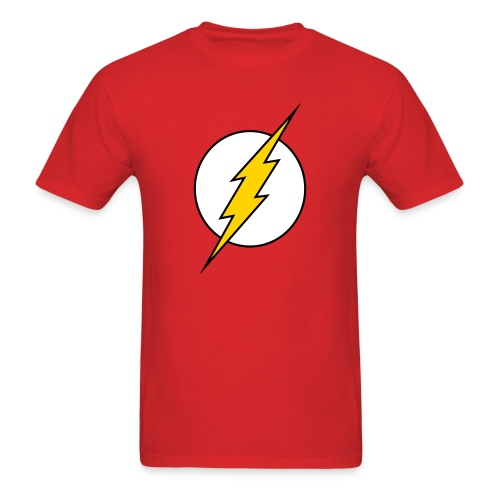 The Flash Lightning Bolt Red Tee - Men's T-Shirt