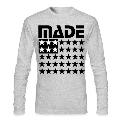 MADE IN AMERICA - Men's Long Sleeve T-Shirt by Next Level